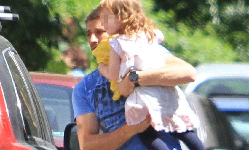 Maciej Dowbor z córka