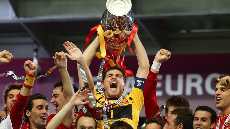 Bramkarz reprezentacji Hiszpanii