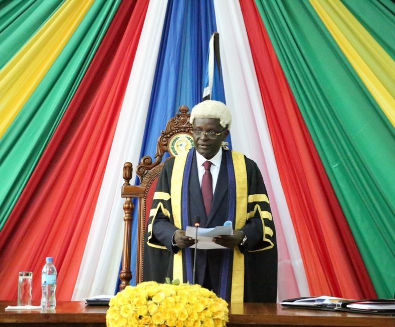 East African Legislative Assembly Speaker Hon Martin Ngoga