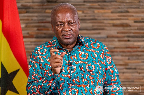 Ghanaians will speak without fear under my next Gov't – Mahama