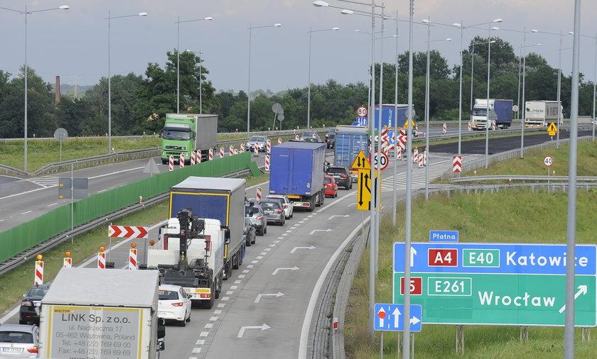 remont autostrada a4