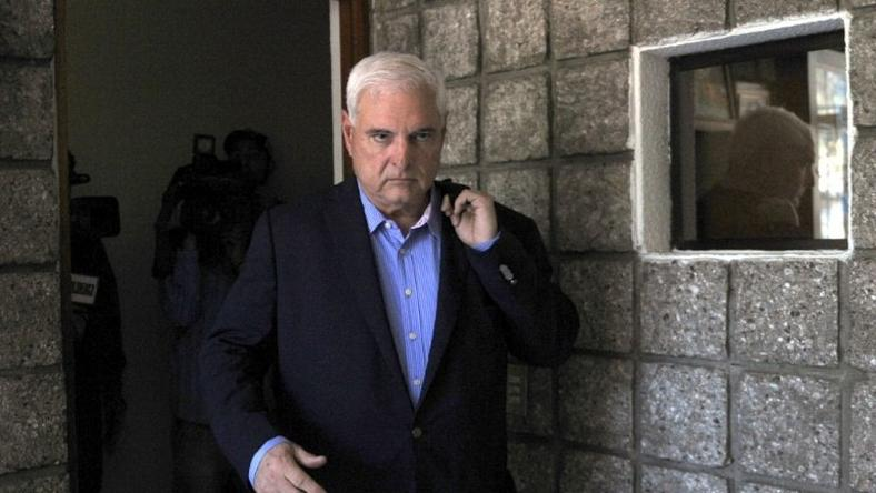 Several members of the former cabinet of former Panamanian President Ricardo Martinelli, seen in 2015, have been jailed on corruption charges related to the Brazilian construction giant Odebrecht