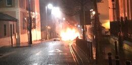 Eksplozja samochodu w Irlandii Północnej