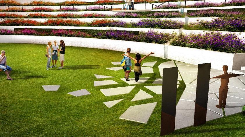 Ogród miododajny na Cytadeli