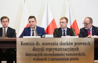 Tyszka: PiS będzie chciało wykorzystać komisję weryfikacyjną do osłabienia PO w Warszawie