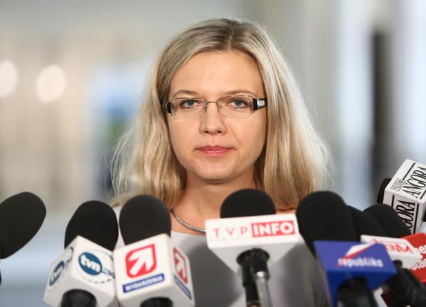Posłanka Prawa i Sprawiedliwości Małgorzata Wassermann