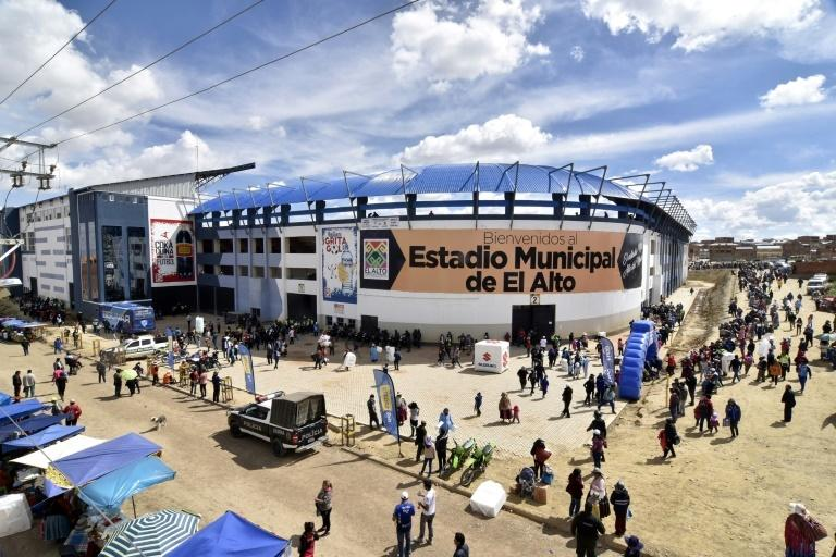 The Municipal Stadium in El Alto is 4,000m above sea level, though FIFA suspended all matches above 2,500m above sea level in 2007