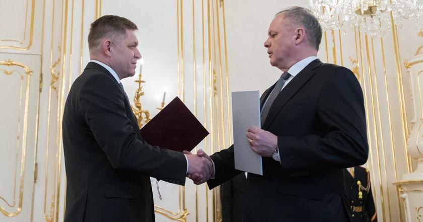 Premier Słowacji Robert Fico złożył dymisję. Została ona przyjęta przez prezydenta Andreja Kiskę