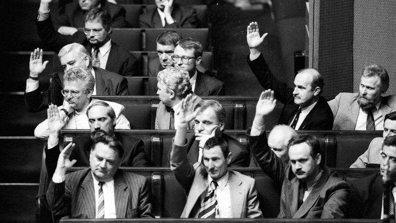 Czerwiec 1992 roku. Ostatnie chwile rządu Jana Olszewskiego