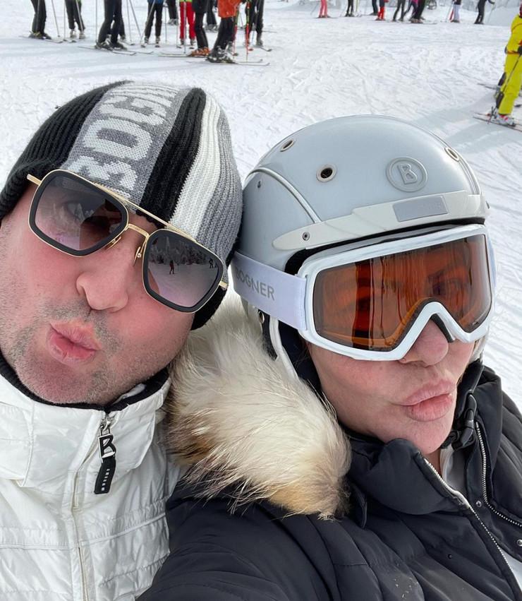 Đani i Slađa uživaju na Kopaoniku
