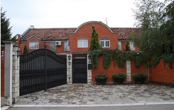Kuća Dragana Kojića Kebe koja ima 330 kvadrata