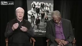 Morgan Freeman zasnął podczas telewizyjnego wywiadu