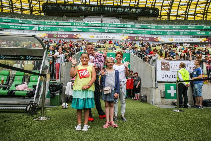 Wielki Mecz Charytatywny na Stadionie Energa