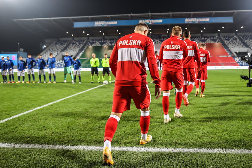 Pilka nozna. Liga Narodow. Wlochy - Polska. 15.11.2020
