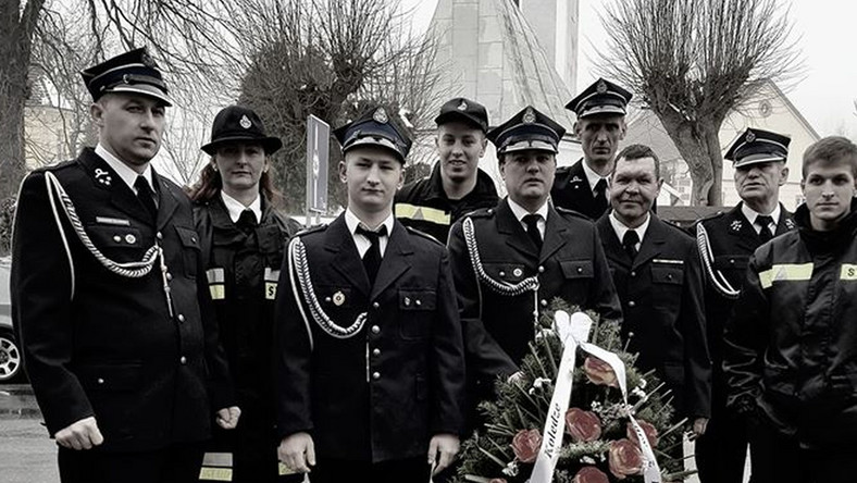 Pogrzeb strażaka z Kaczorowa