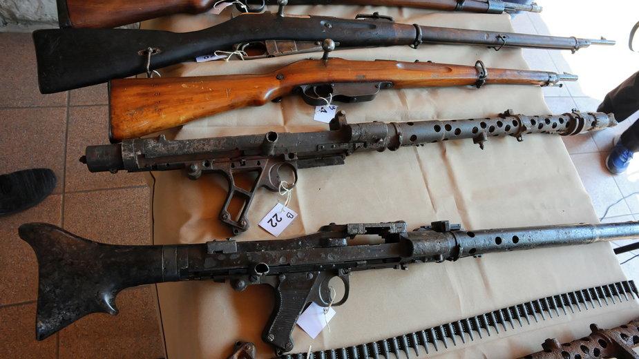 Broń, która trafiła do kołobrzeskiego muzeum