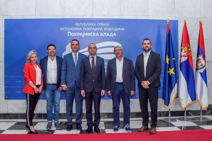 Đorđe Milićević sa predstavnicima kompanije ''Geci''