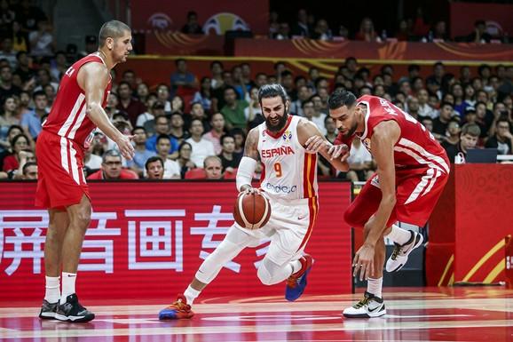 Košarkaška reprezentacija Španije, košarkaška reprezentacija Tunisa