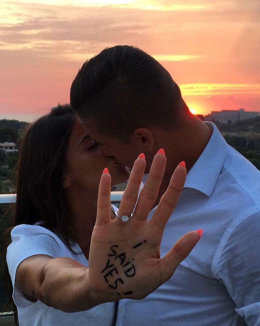 Polski piłkarz się zaręczył