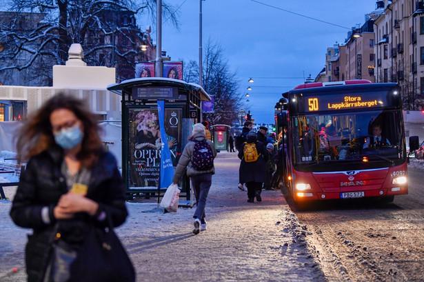 Sztokholm, Szwecja. 18.01.2021