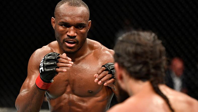 After five rounds, Kamaru Usman was announced winner over Jorge Masvidal (ESPN)