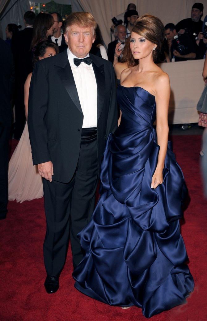 Te svečane haljine Melanije Tramp: sa suprugom na Gali 2010.