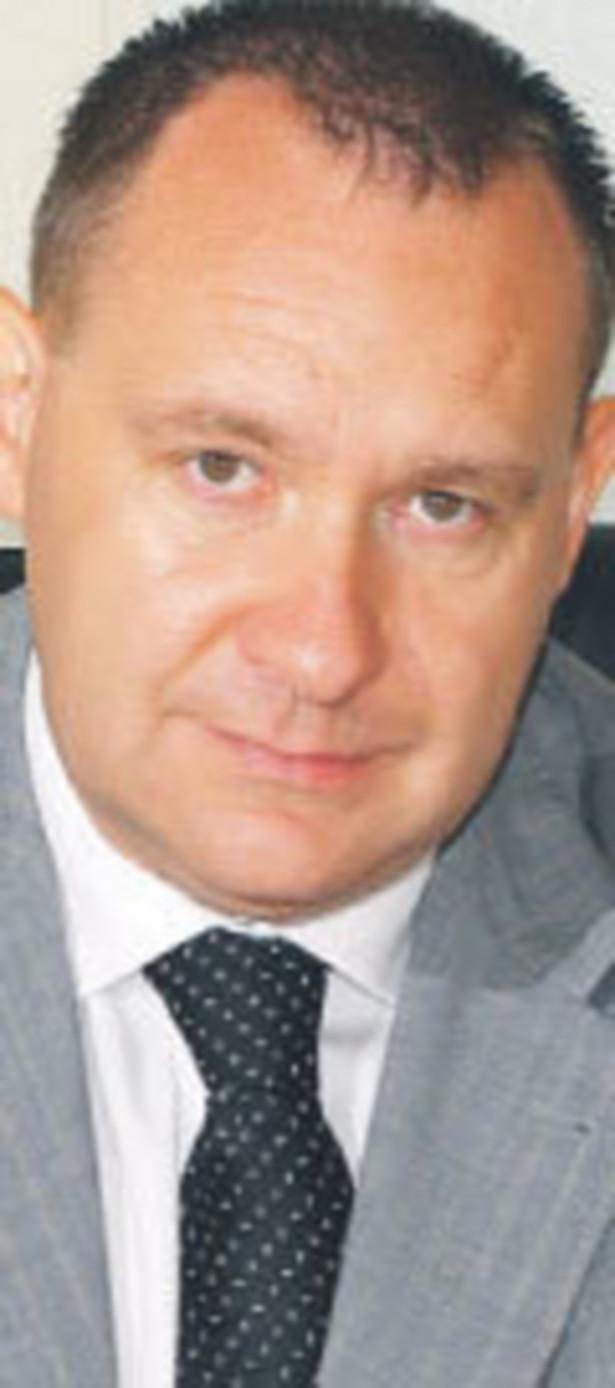 Piotr Regulski, wiceprezes firmy Impel Cleaning działającej na rynku usług porządkowych