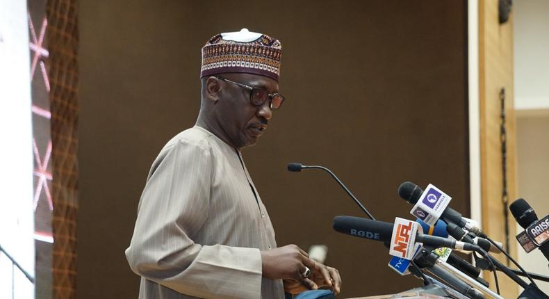 The Group Managing Director of NNPC, Mallam Mele Kyari. [Twitter/@OfficialNCDMB]