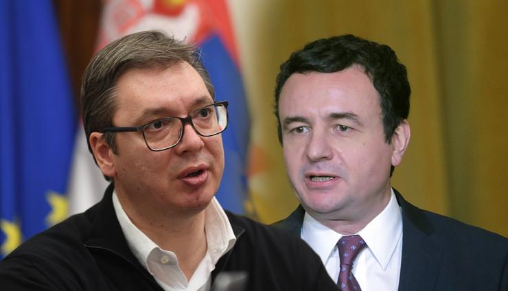 kurti vucic foto RAS Tanjug Predsednistvo Srbije, EPA Malton Dibra