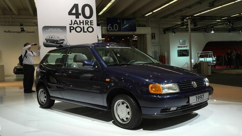 Techno Classica Essen 2015 - 40 lat Volkswagena Polo