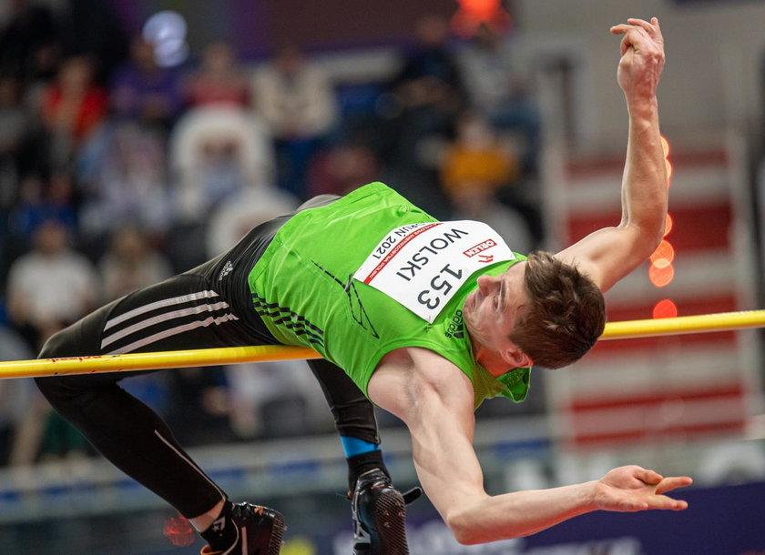 Robert Wolski wciąż jest w stanie skoczyć powyżej 2 m