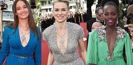Najgłębsze dekolty pierwszego dnia festiwalu w Cannes