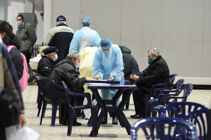 Novi Sad971  masovna vakcinacija protiv virusa korona kineska vakcina sinofarm  foto Nenad Mihajlovic