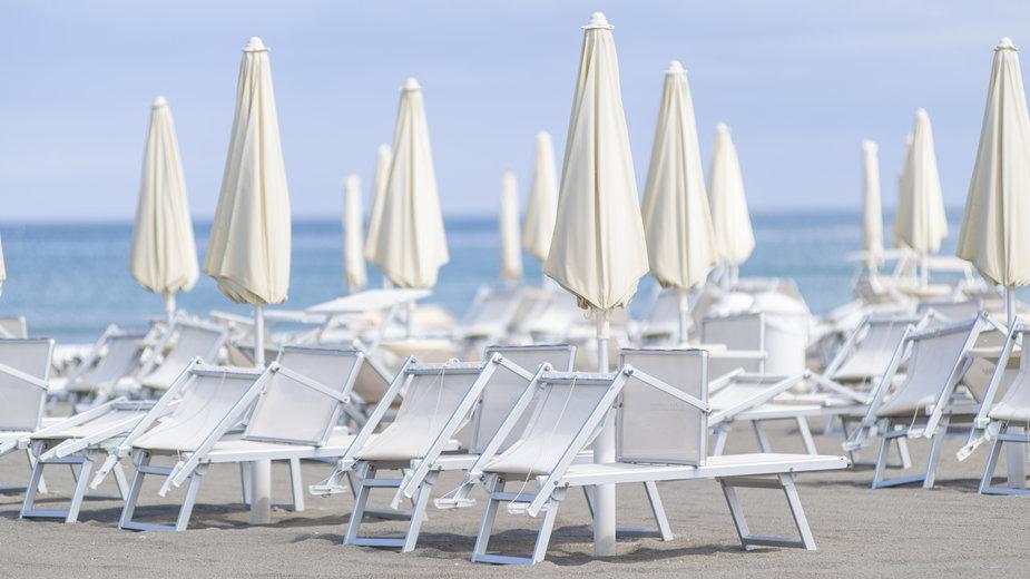 Plaża w Cervi, Włochy