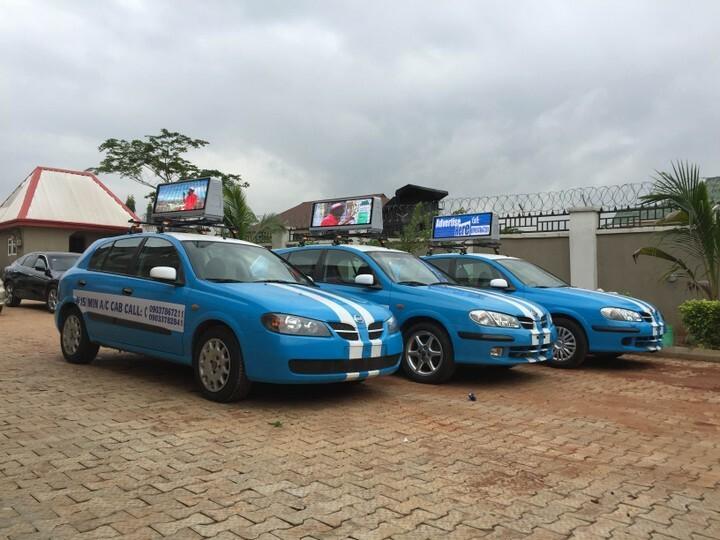 Blue and White Asaba cabs [Nairaland]