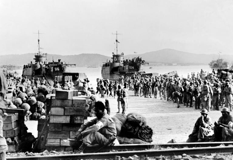 The southern French fishing port of Saint-Tropez, now a summer hotspot, was one of the places where Allied troops landed on August 15, 1944