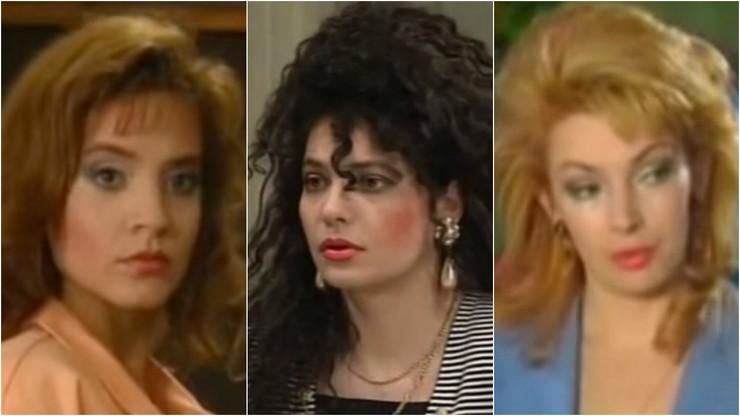 glumice devedesetih