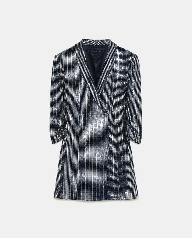 Metalik haljina poznatog španskog brenda