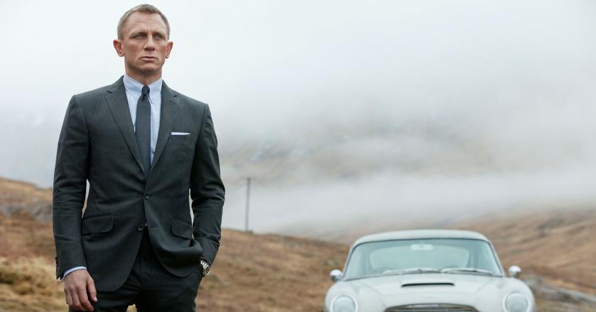 Wszystkie garnitury Daniela Craiga w serii filmów o Jamesie Bondzie są szyte na miarę