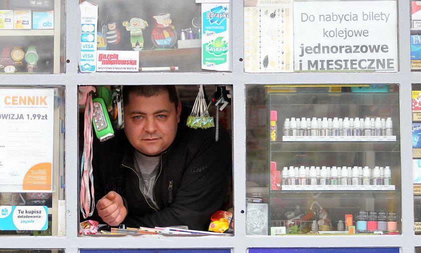 Adam Poprawa (31 l.), sprzedawca