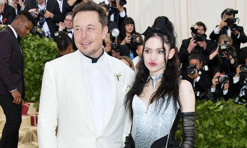 Partnerka Elona Muska trafiła do szpitala. Wszystko przez występ w telewizji.