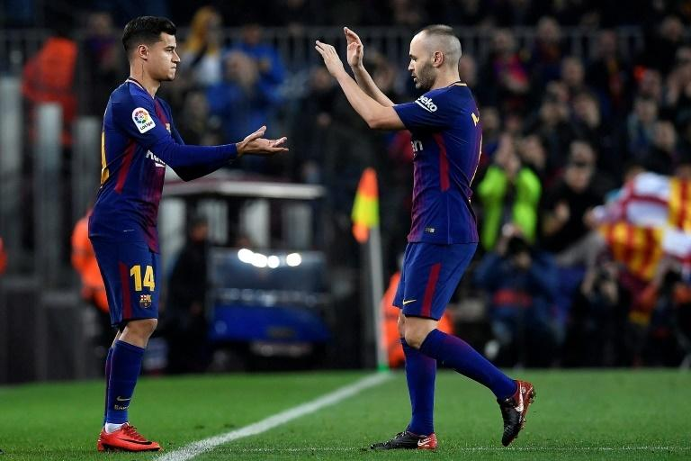 Philippe Coutinho was touted as Andres Iniesta's long-term replacement