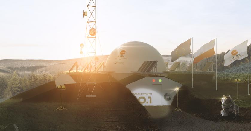 Największy taki eksperyment w Europie. W Polsce powstaje kosmiczna baza