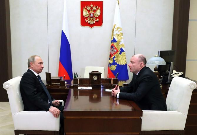 Vladimir Putin i Vladimir Potanin