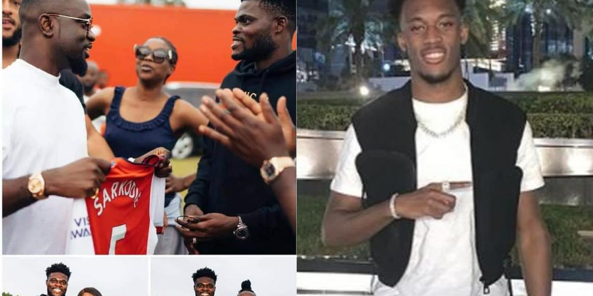 Partey, Hudson-Odoi show love to Ghanaian artistes at 'Ghana Party in the Park' (Video)