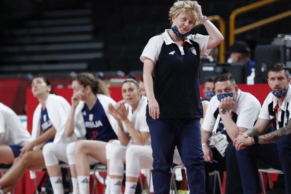 """""""A LEPO SAM REKLA..."""" Marina Maljković posle poraza košarkašica od Španije: Htele su da nam se osvete - to su i uradile!"""