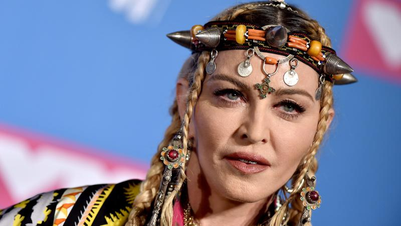 Madonna a 2018-as MTV Video Music Awards-on /Fotó: Northfoto