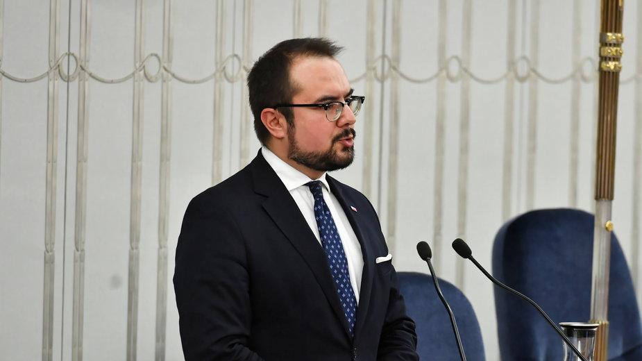 Wiceszef MSZ Paweł Jabłoński