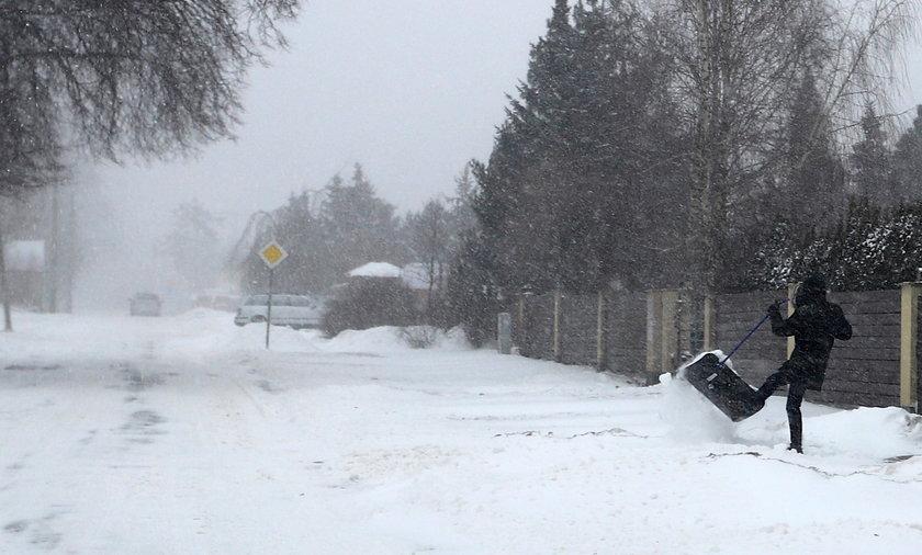 Atak zimy w Polsce. Zdjęcie ilustracyjne
