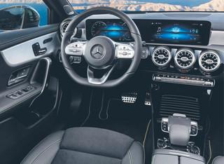 Trochę o nowym Mercedesie A200